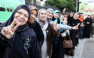January: Egypt Holds Constitutional Referendum