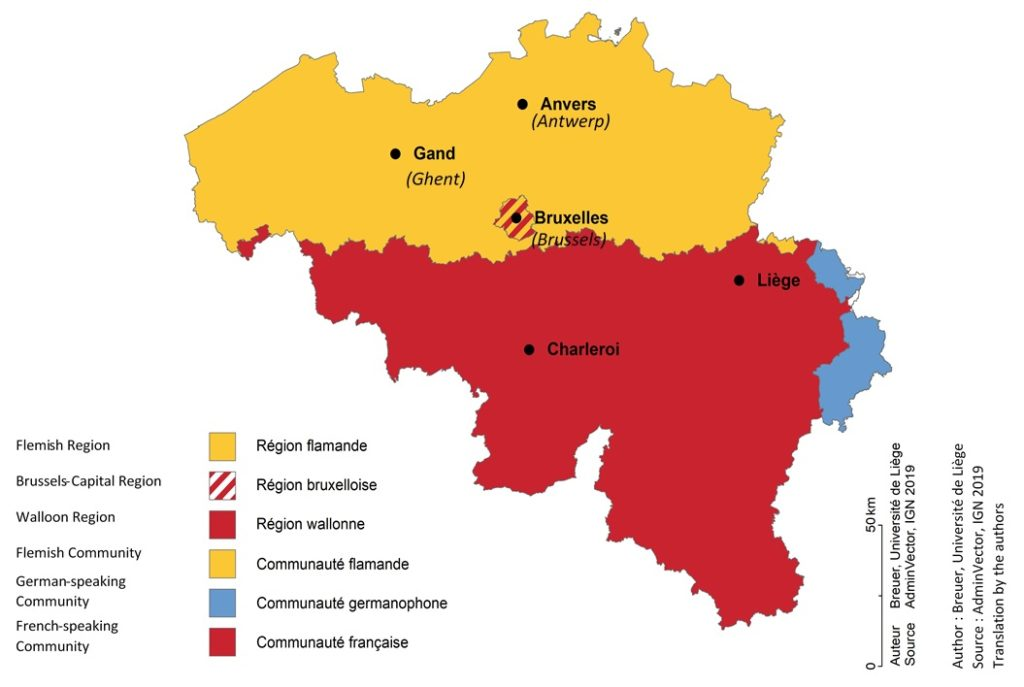 I Connect States Reactions To Covid 19 Pandemic An Overview Of The Belgian Case
